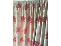 Handmade Lined Curtains