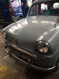 1955 standard 10 easy restoration project starts and drives