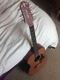 acoustic steel string guitar (crafter)