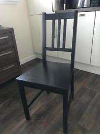 Black Stefan Dining Chair Ikea