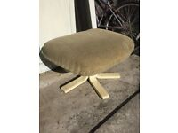 Parker knoll seat/footstool from the 80s
