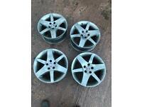 "17"" Double Y Grey Saab Alloys (with tyres)"