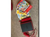 Nintendo Wii Mini and 5 games