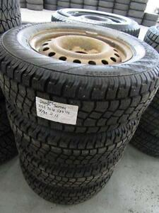 DODGE JOURNEY WINTER TIRE PACKAGE ON STEEL WHEELS