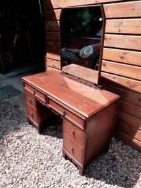 Vintage wooden Dressing Table