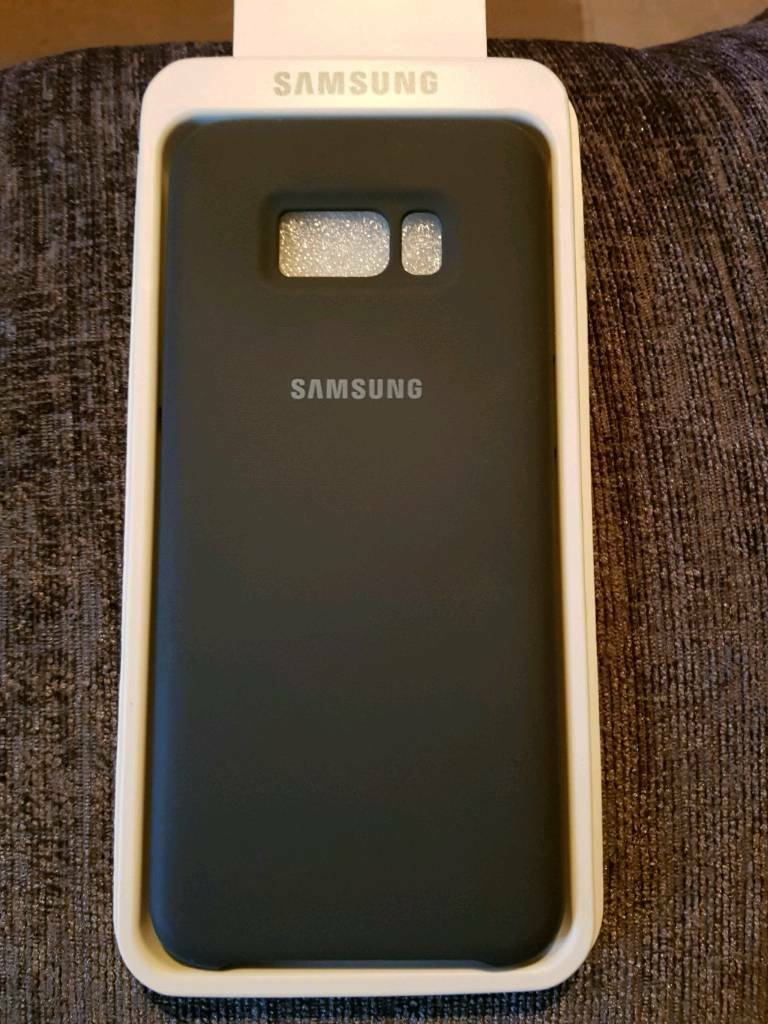 9da78414704 SAMSUNG Galaxy S8+ SILICONE COVER (Dark Gray)