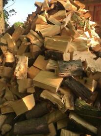 Logs, dumpy bag or truck or trailer load