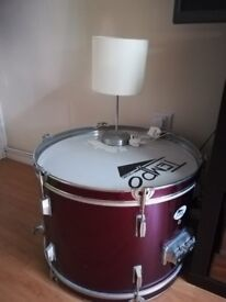 Piece of drum...as Sidetable
