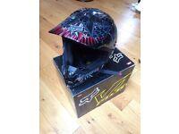 Fox V1 Pilot Motorcross/Motorbike Helmet