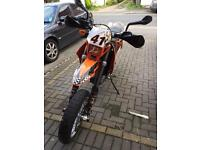 Ktm 625 lc4 supermoto motorbike