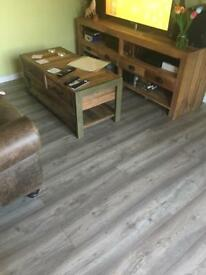 Laminate flooring 4 packed 1,8m2 each class AC5 8 mm thick 120cm long 18,9 wide Spanish class