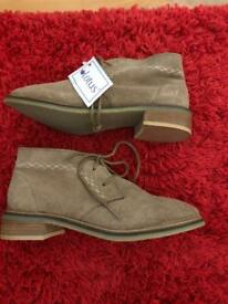 Lotus soft suede ankle boots