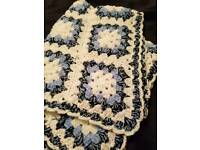 My handmade crochet blankets ON SALE FREE UK COURIER