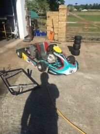 2012 formula k rotax max kart for sale or swap ( not alonso, Tony kart, kosmic, crg, intepid,