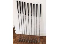 Full set of Armour Irons for Sale