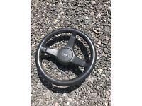 Steering wheel for a mini