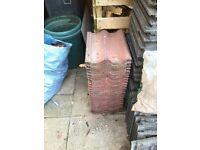 Marley red grovebury roof tiles