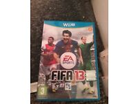 Fifa 13 for the wii u