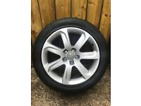 """Audi 18"""" alloy wheels GREAT CONDITION"""
