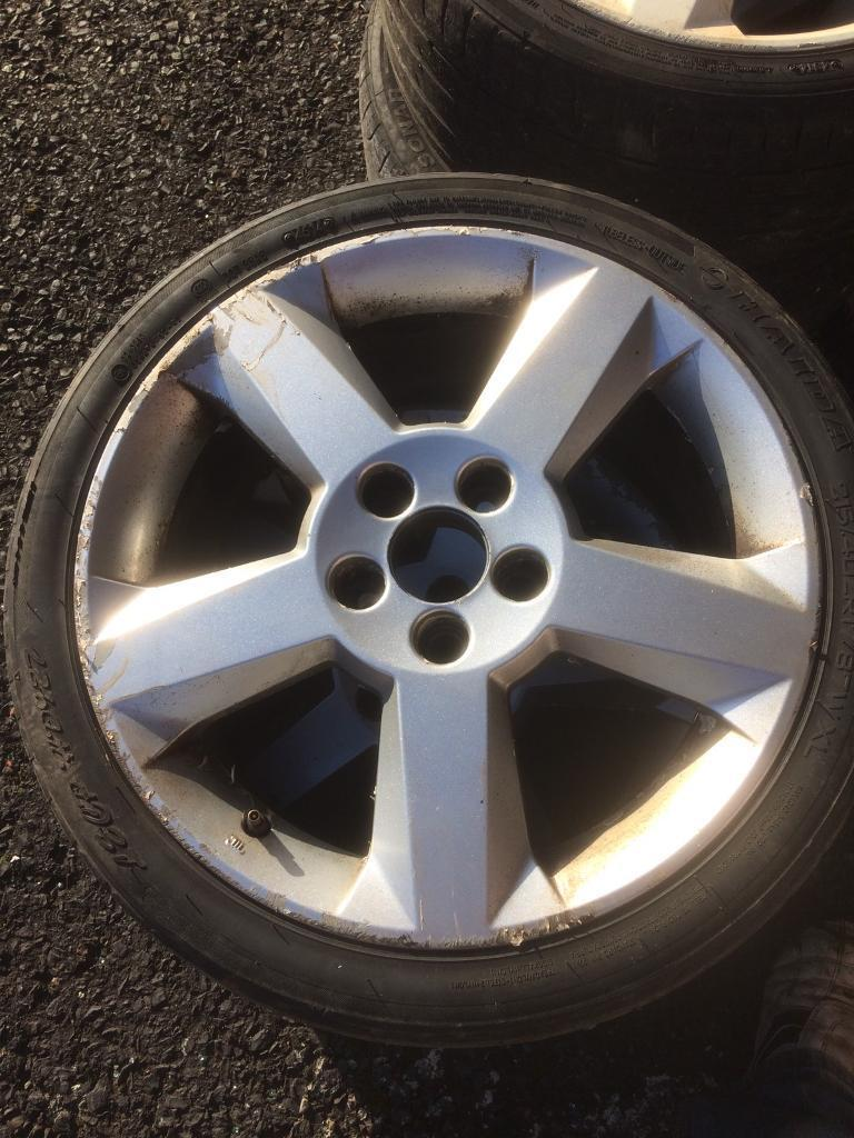 4 x 17 inch alloy wheels
