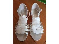 Wedding Shoes - Cream - Size 1