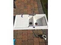 Pot kitchen sink