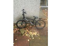 Child's 20'' Black BMX Bike