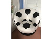 Robust PCL collection kids/Children's football swivel chair. RRP £200