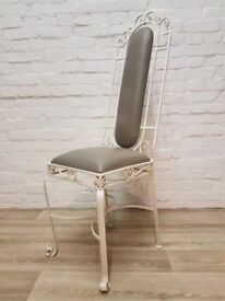 Cast Iron Chair (DELIVERY AVAILABLE FOR THIS ITEM OF FURNITURE)