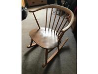 Vintage ercol cowhorn chair