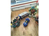Boy toy bundle Batman, cars ,turtles
