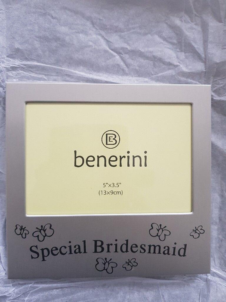 BNIB bridesmaid photo frame x2 | in Montpelier, Bristol | Gumtree