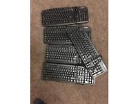 Novatech 4 job lot key boards.