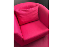 PINK ARMCHAIR FROM GEORGE AT ASDA