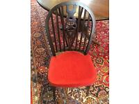 Round table 6 chairs