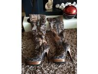 Womens size 4 and 5 heels etc....