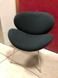 Lounge Chair with Chrome Legs - Office Chairs - $125