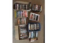 Selection of 150 DVDs