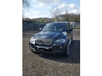 BMW X5 2009 3.0 SE 7 seater 12 months MOT 124K, Huge spec in rear F/F DVD player, Freeview TV,