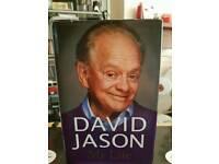 DAVID JASON MY LIFE HARD BACK BOOK