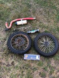 Pitbike crf70 spares