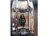 Tama mighty hoop steel snare