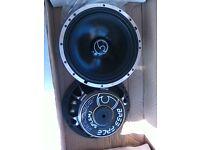 Brand New Bass FAce SPL6M.1 Pro Midbass Driver Speskers