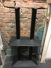 Cast iron table base x 2