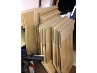 House removal moving home cardboard packing boxes