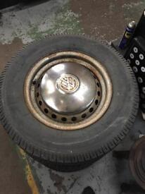 T2 camper wheels