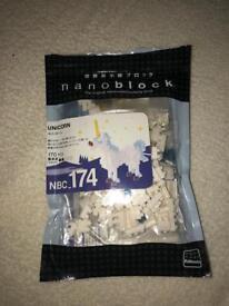 Nanoblocks unicorn