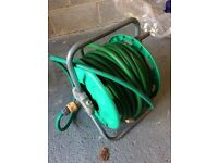 hose pipe- double length with wheel stand