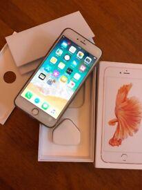 iPhone 6s plus 128gb unlocked with box