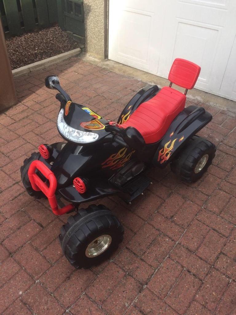 Children's electric quad bike